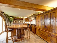 Distressed Character Oak Kitchen - Mellor