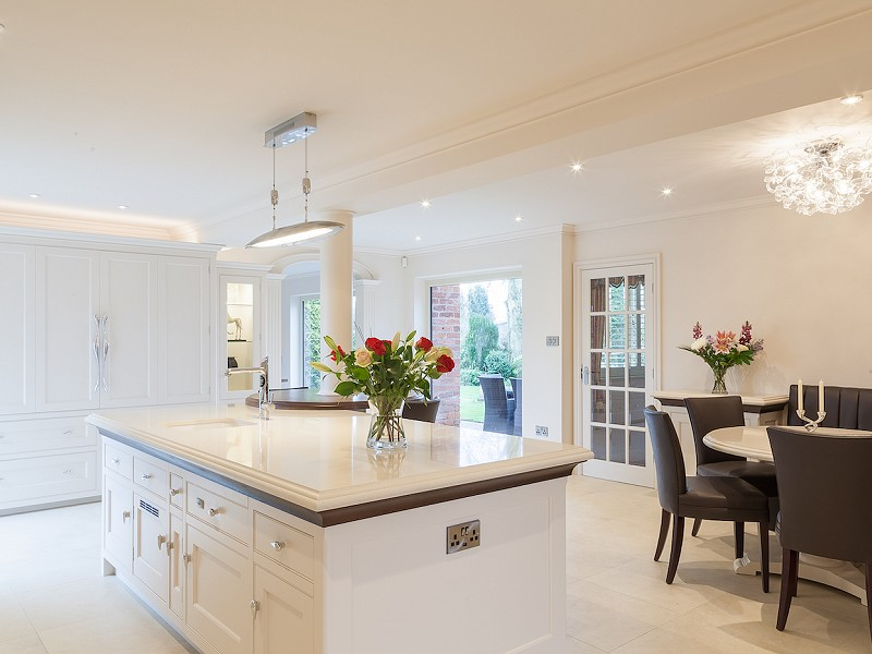 Hand Painted Kitchen - Great Warford, Cheshire