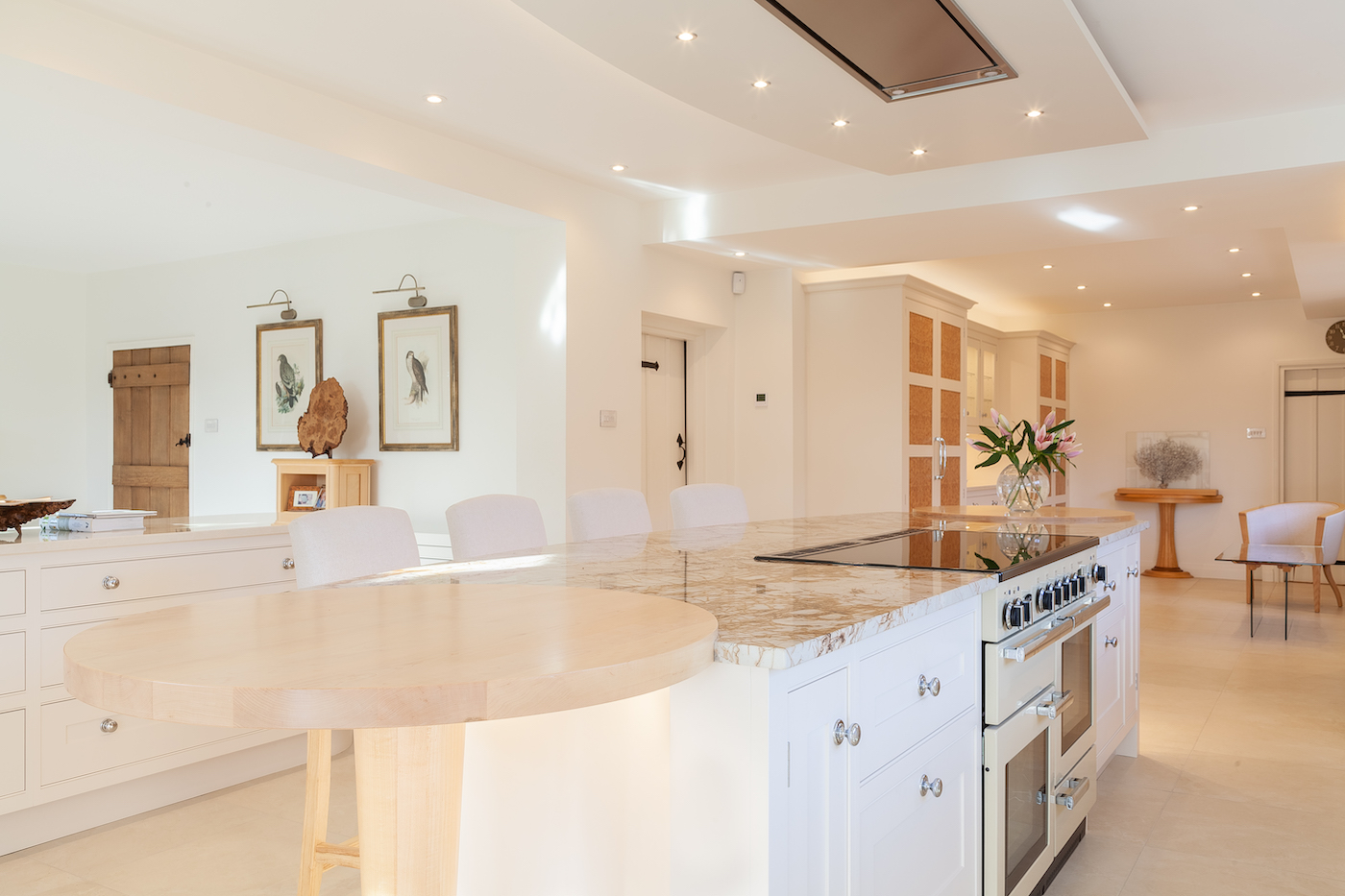 Hand Painted Kitchen - Prestbury, Cheshire