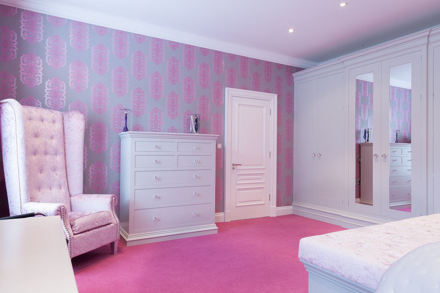 Hand Painted Bedroom - Prestbury, Cheshire