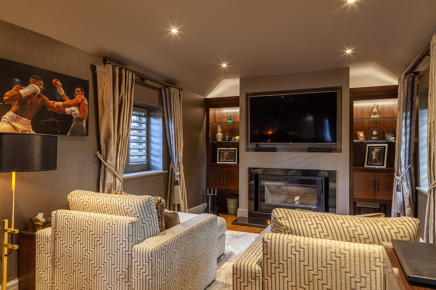 Dark Walnut Snug and Bar - Wincle, Cheshire