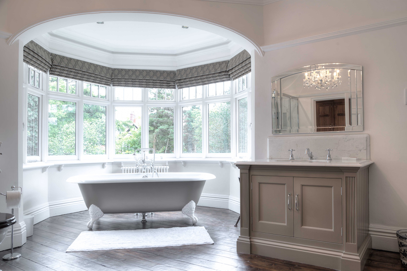 Hand Painted Bathroom - Hale, Cheshire