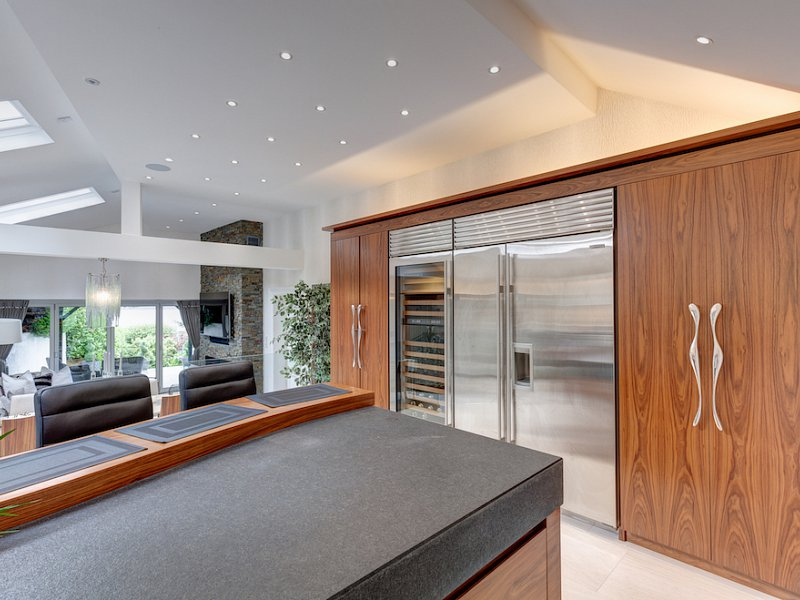 American Black Walnut Kitchen - Windermere, Cumbria