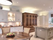 Cream & Grey Kitchen - Hale