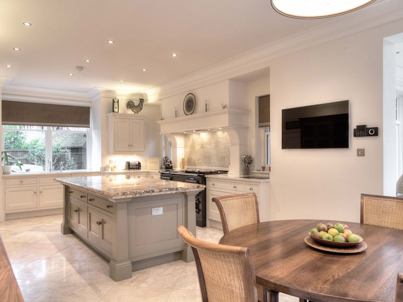 Cream & Grey Kitchen - Hale, Cheshire