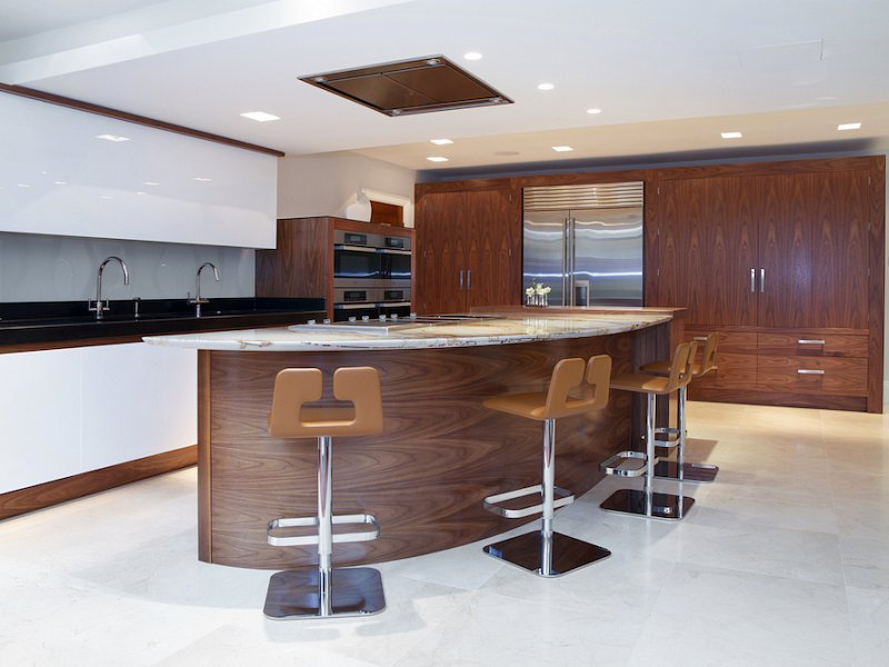 Walnut Gloss White Kitchen Prestbury Cheshire Our Portfolio